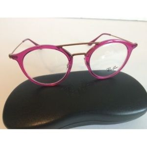 f1039f4c63 Ray-Ban Accessories - Ray-Ban Pink Fuschia Round Eyeglasses RB 7097 5631